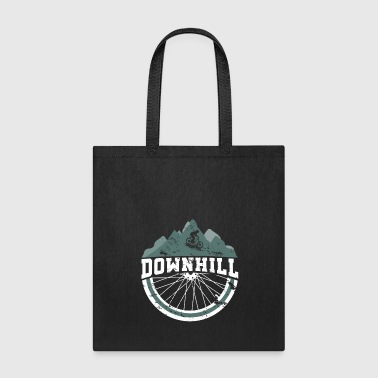 Downhill Bicycle Slopestyle Jump Bike - Tote Bag