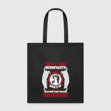 Girl's Become Firefighters T Shirt - Tote Bag