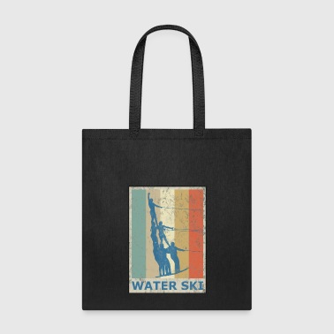 Retro Vintage Style Water Ski Water Sports - Tote Bag