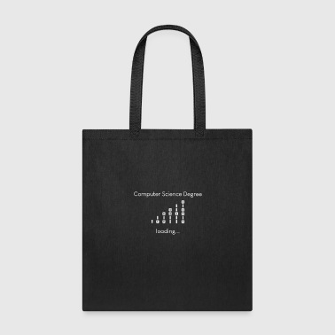 Computer Science degree loading - Tote Bag
