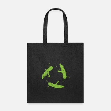 Insect Insect Grasshoppers - Tote Bag