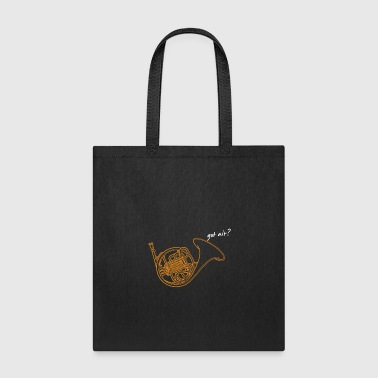 French Horn Brass Instrument - Tote Bag