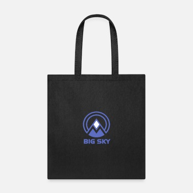 Ski Resort Big Sky Montana Ski Resort Vacation Souvenir - Tote Bag
