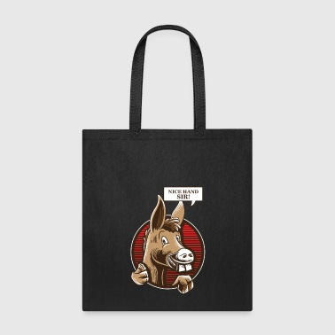 Donkey Poker Player Shirt - Texas Holdem Poker - Tote Bag