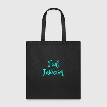 Food Allegy Teal Takeover - Tote Bag