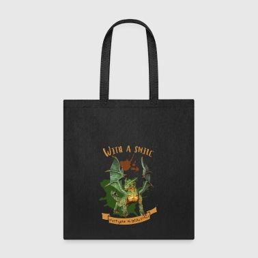a smile - Tote Bag