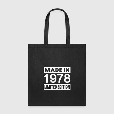1978 40th vintage RETRO birthday - Tote Bag