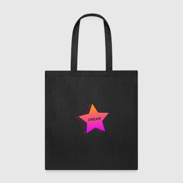 Dream Star - 90s Aesthetic Vaporwave - Tote Bag