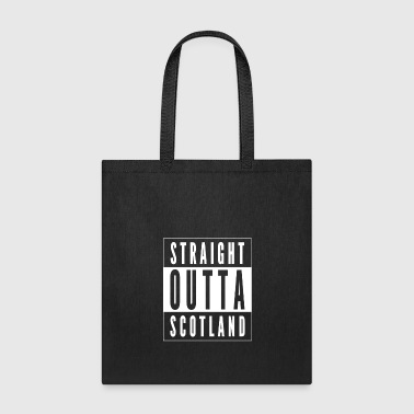 Straight Outta Scotland - Tote Bag