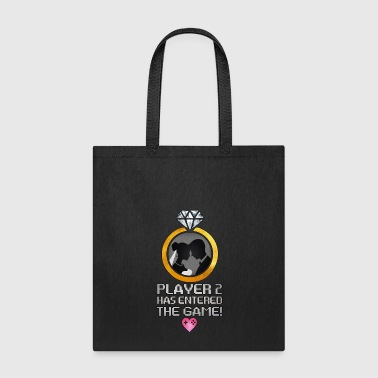 Player 2 Has Entered The Game - Total Basics - Tote Bag