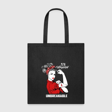 MPN Warrior Unbreakable Awareness - Tote Bag