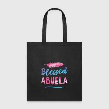 Blessed Abuela Puerto Rico Grandma Mothers Day - Tote Bag