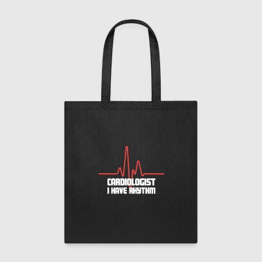 Funny Heart Doctor Cardiologist - Tote Bag