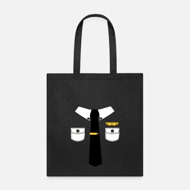 Ironic Funny Policeman Halloween Lazy Costume Ironic - Tote Bag