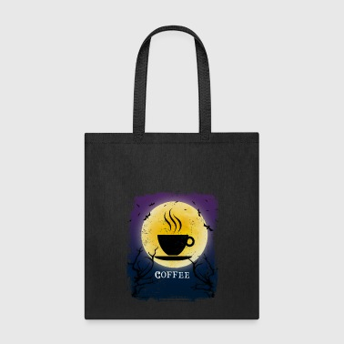 Coffee Halloween Vintage Art Coffee Lover - Tote Bag