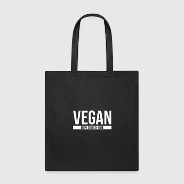 Vegan 100% Cruelty Free - Vegan - Total Basics - Tote Bag
