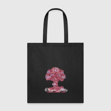 Atomic bomb of flowers - Tote Bag