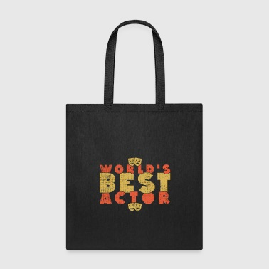 World's Best Actor perfect christmas present - Tote Bag