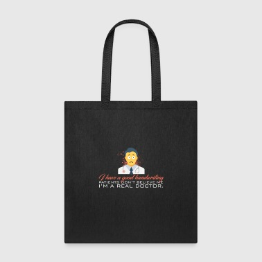 Handwriting Doctor - Good Handwriting - Tote Bag