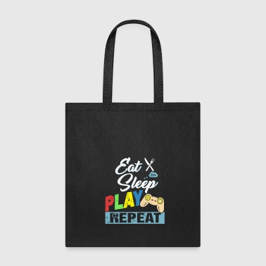 Eat Sleep Play Repeat - Tote Bag