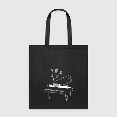 piano - Tote Bag