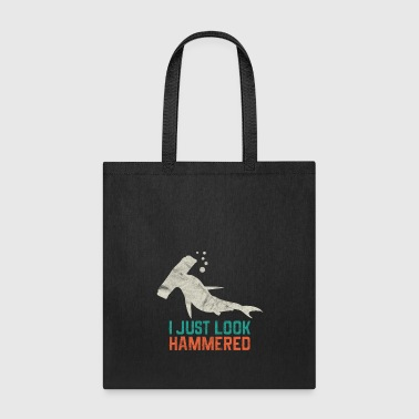Animal Print - I Just look Hammered - Tote Bag