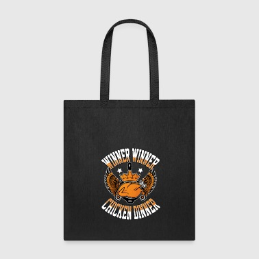 winner chicken dinner games gaming multiplayer - Tote Bag