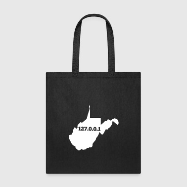 Civil Engineering West Virginia 127.0.0.1 Home Computer Nerd IP Address - Tote Bag