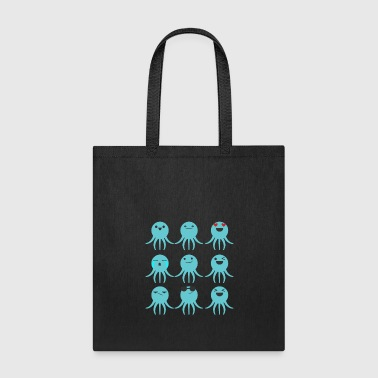 Cuttlefish Funny emotions - Tote Bag