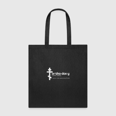 Orthodox Orthodoxy Definition Gift - Tote Bag