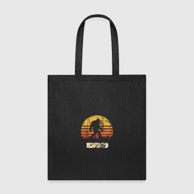 Urban Bigfoot Idaho State Sasquatch Yeti Distressed - Tote Bag