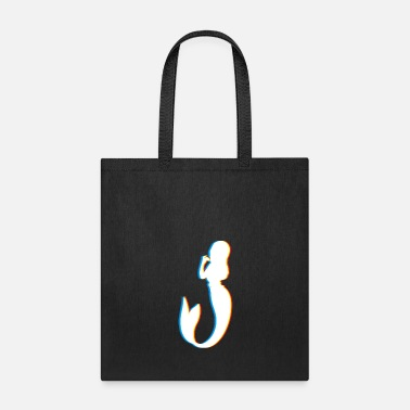 Folklore Psychedelic Mermaid Gift for Ocean Folklore Fans - Tote Bag
