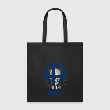 Finland flag banner gift gift idea - Tote Bag