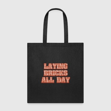 Brick Bricklayer Worker Gift - Tote Bag