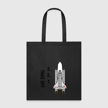 1.2..3… take off - Tote Bag