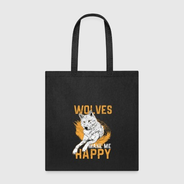 Wolves Wolf Hunt Animal Gift - Tote Bag