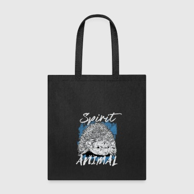 Rodent Hedgehog spiny forest animal gift - Tote Bag