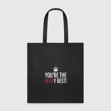 Running You're The Beary Best - Animal Puns - Total Basics - Tote Bag