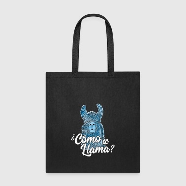 Chile Cool Llama Mexican Animal Mexico Funny Gag Saying - Tote Bag