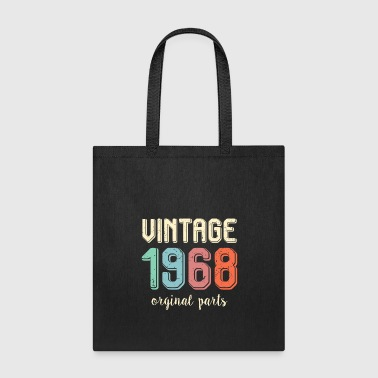 Turn Vintage Retro 1968 50 Years Old 50th Birthday Gift - Tote Bag
