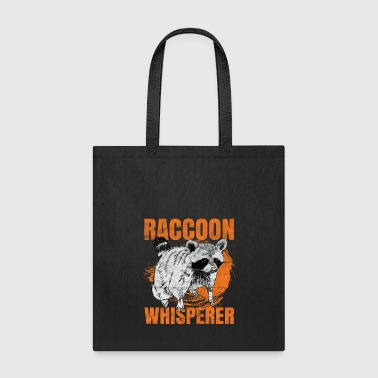 Raccoon raccoon whisperer fox animal gift - Tote Bag