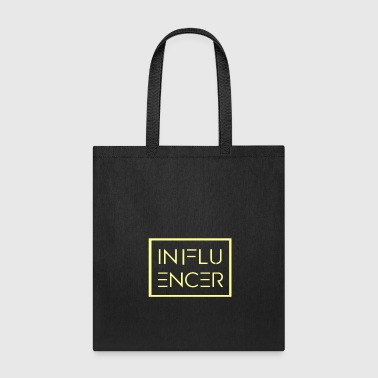 Influence Influencer yellow - Tote Bag