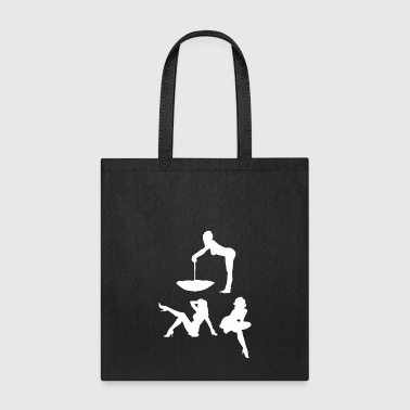 Highheels Retro Pin Up Girls vintage sexy woman gift shirt - Tote Bag