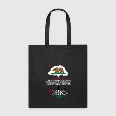 Palestinian California Grown with Palestinian Roots - Tote Bag