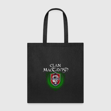 Crest MacTavish Surname Scottish Clan Tartan Crest Badge - Tote Bag