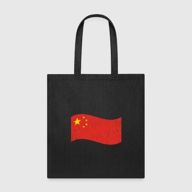 Japan Waving Flag China gift Christmas birthday - Tote Bag