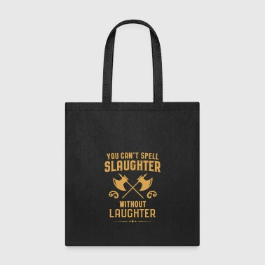 Playing Barbarian Slaughter and Laughter Tabletop RPG - Tote Bag