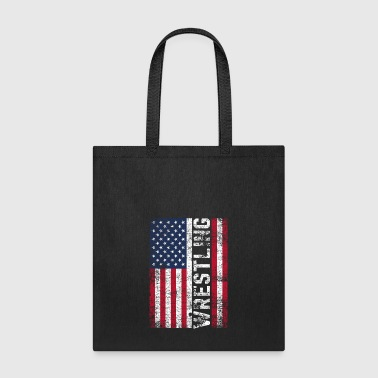 Fighter Wrestling USA - Tote Bag