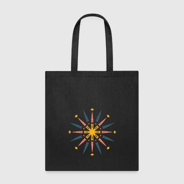 India Mandala gift drawing Colorful India - Tote Bag