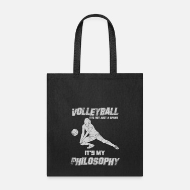 Philosophy Volleyball it's my pholosophy - Tote Bag